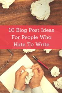 Writer's hands crumpling up paper